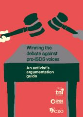 Winning the debate against pro-isds voices - an activistargumentation guide
