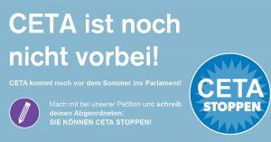 Petition - CETA stoppen!