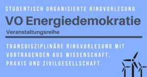 Energiedemokratie überblicken - Syntheseeinheit @ BOKU (Universität für Bodenkultur), HS 3