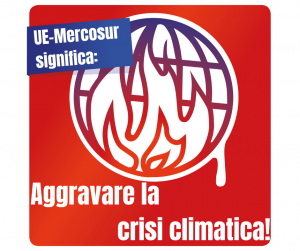 Juhuu Fridays For Future Italia unterstützt auch unser #stopEUMercosur und macht