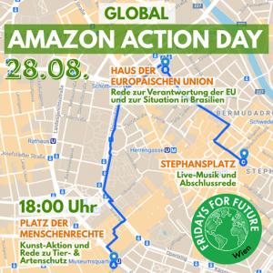 Für alle Wiener*innen: heute um 18 Uhr geht's los am Platz der Menschenrechte -