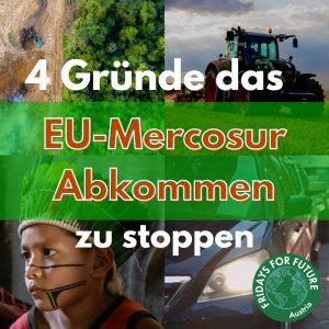 NEIN zum Mercosur-Handelsabkommen!